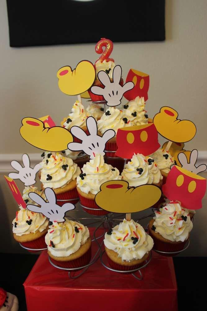 Mickey Mouse Birthday Bash | CatchMyParty.com
