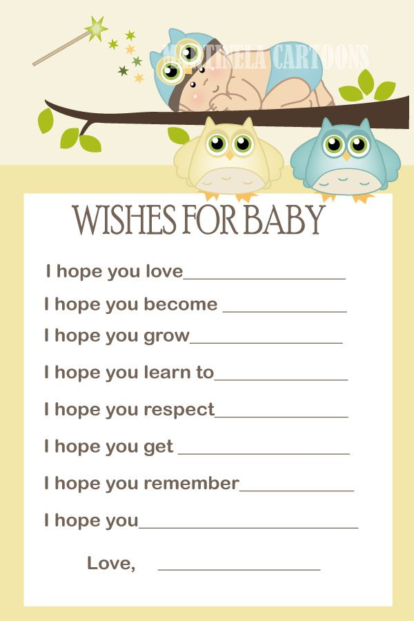 wishes for baby printable template - best 20 wishes for baby boy ideas on pinterest