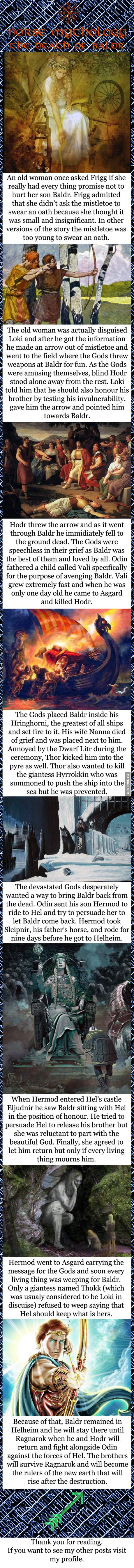 Norse mythology - The death of Baldr