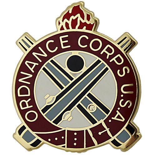 Army Ordnance Regimental Corps Crest