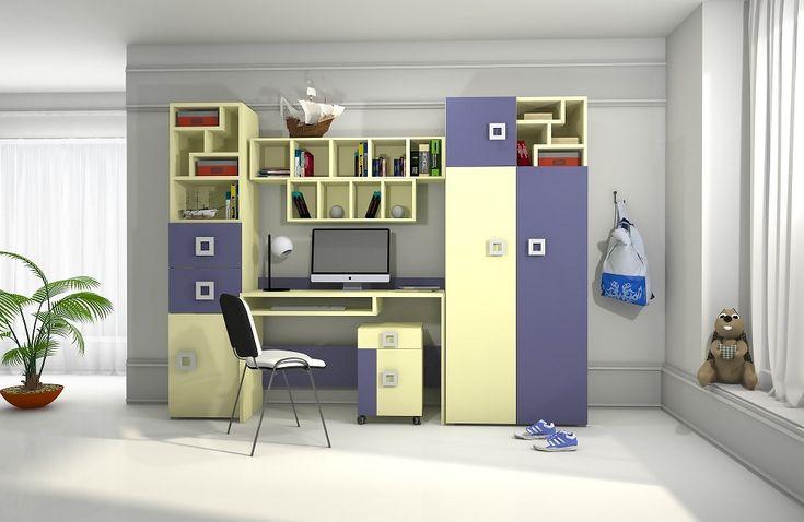 Детская комната набор 2 Labirint, купить детскую комнату для мальчика в Киеве, Белая Церковь, цена, мебель Блонски