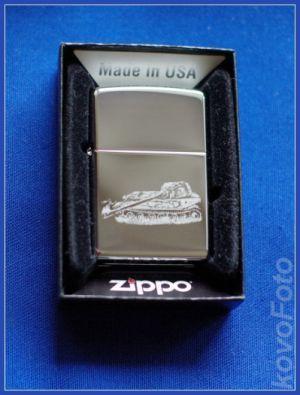 zippo zapalovač pánský s vyrytou fotografií