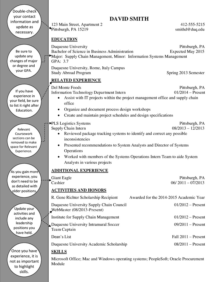 supply chain upperclass resume