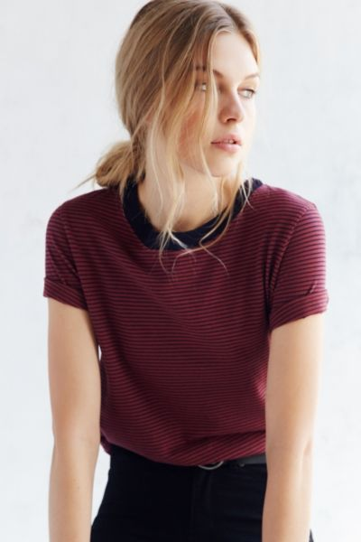 Truly Madly Deeply Tomboy Crew Neck Tee - Urban Outfitters