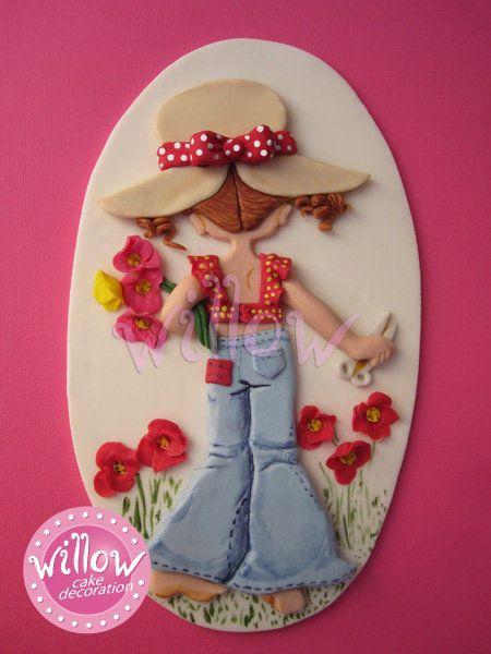 *SUGAR ART ~ Sarah Kay, fondant cake decorations