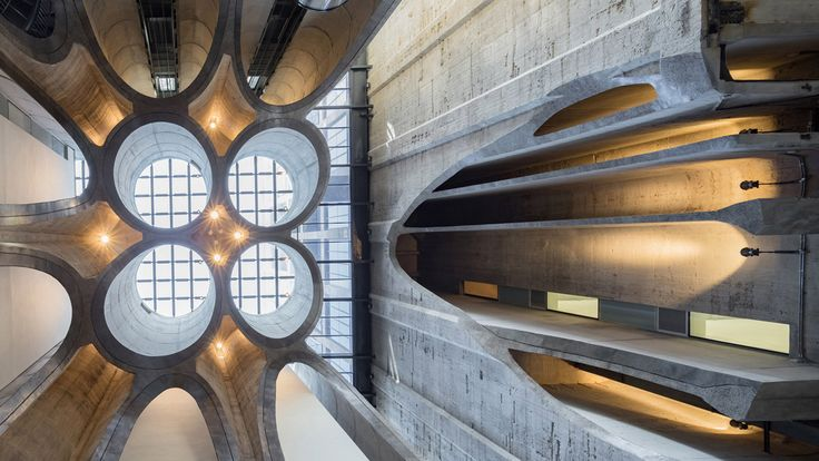 Housed in what was once Cape Town's tallest building is the newly unveiled Zeitz Museum of Contemporary Art Africa (Zeitz MOCAA), created by London-based architect Thomas Heatherwick. The institution's 80 gallery spaces were converted from 42 historic grain silos, storage units which were once used