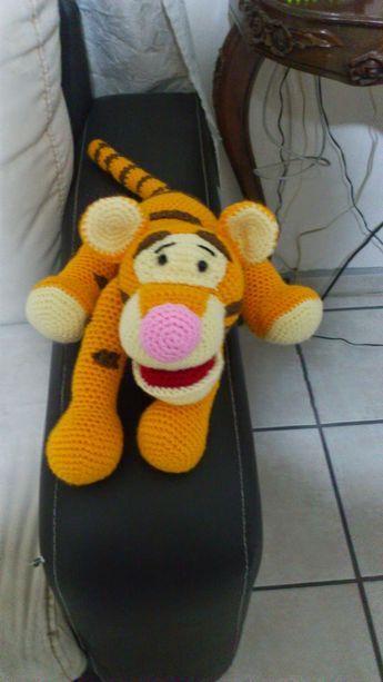 Tigger, Winnie the Poo,Häkeln,Kostenlos,