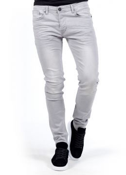 SlimFit Yeni Sezon Tarz Gri Erkek Kot Pantolon