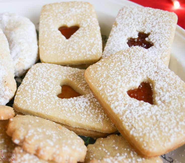 linzer koekjes, #tsjechische #kerst #koekjes recept op mijn blog