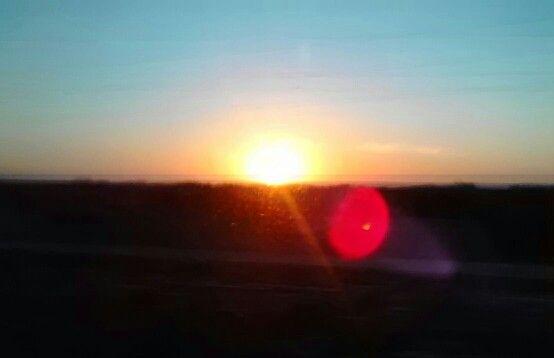 Nascer do sol no Ceará