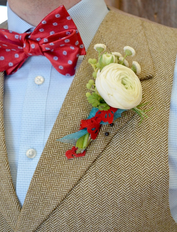 Red bow tie (Meredith Moran Photography)