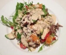 Cous Cous Salad with Sweet and Spicy Yoghurt Dressing | Official Thermomix Recipe Community