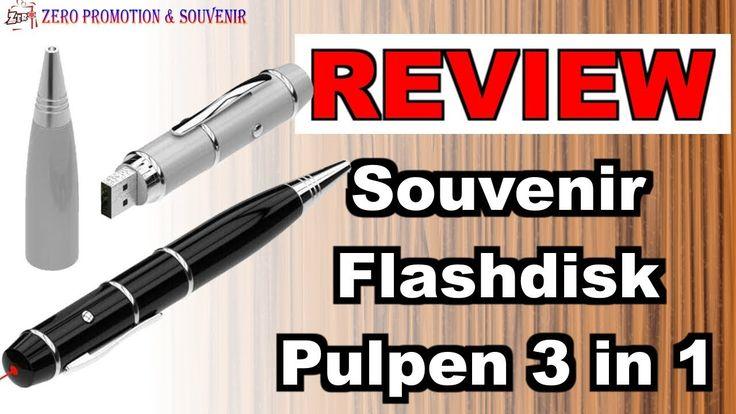 Review souvenir Flashdisk Pulpen 3in1