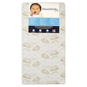 2. Dream On Me Twilight Crib and Toddler Bed Mattress