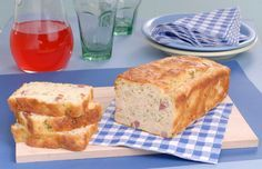 Torta de feijão-branco com bacon