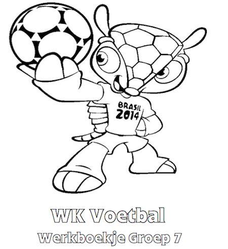 WK Voetbal Werkboekje Groep 7 - Klaarwerk.nl
