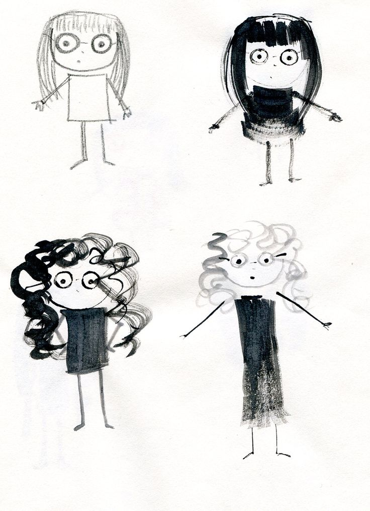 A few more inky girls