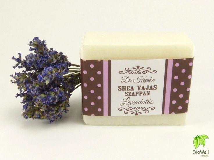 Shea vajas-levendulás szappan a gyönyörű bőrért!