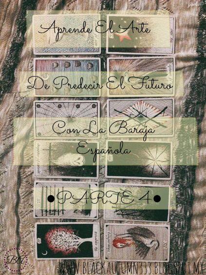 Clase Cuatro en Black Autumn para Aprender A Predecir El Futuro Con La Baraja Española. Esta vez aprendemos el significado de las cartas cuando salen al revés en las tiradas.
