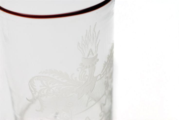 A detail from Giberto Venezia Goto glass Collection in Murano glass