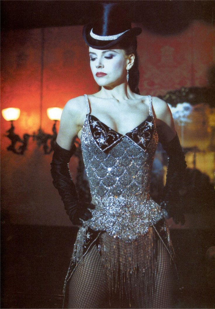 nicole kidman moulin rouge the film won an oscar for best costume design - Black Dynamite Halloween Costume