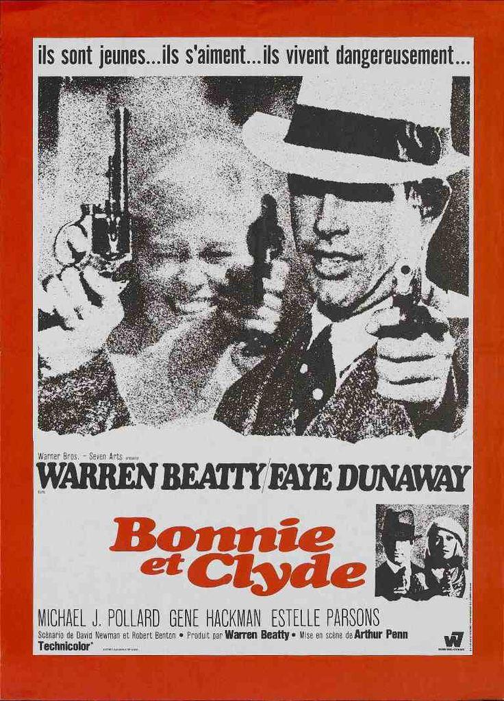 """""""Bonnie and Clyde"""" est un film de Arthur Penn avec Mabel Cavitt, Warren Beatty.1967"""