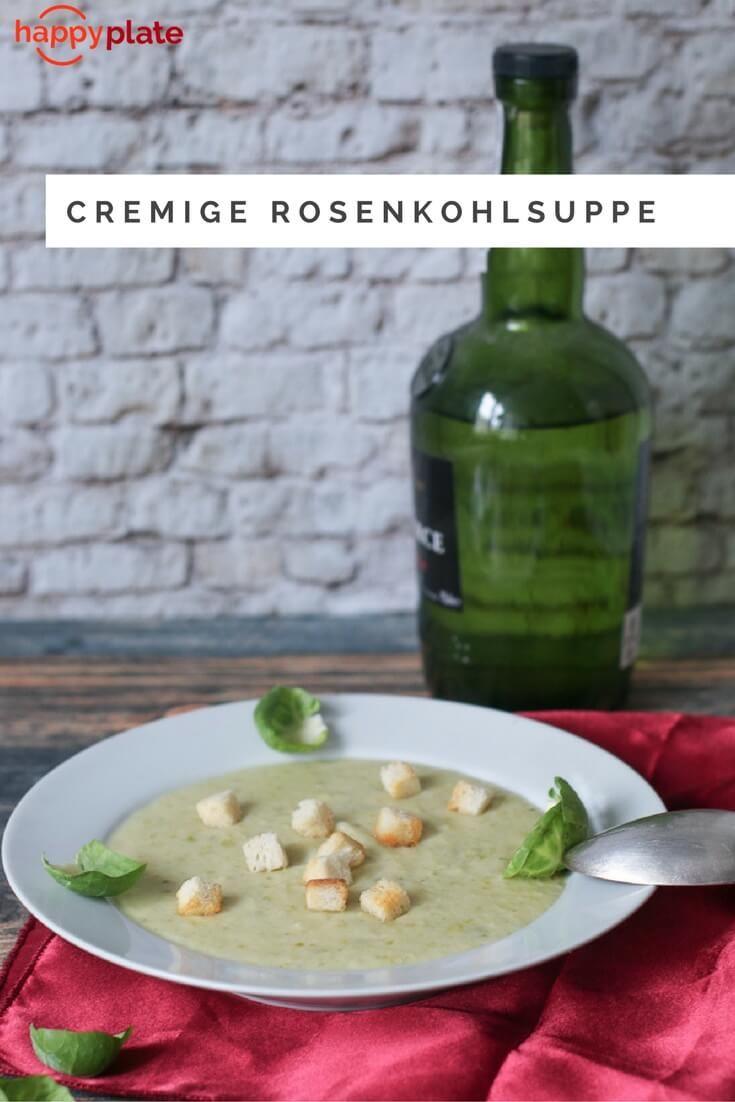Cremige Rosenkohlsuppe