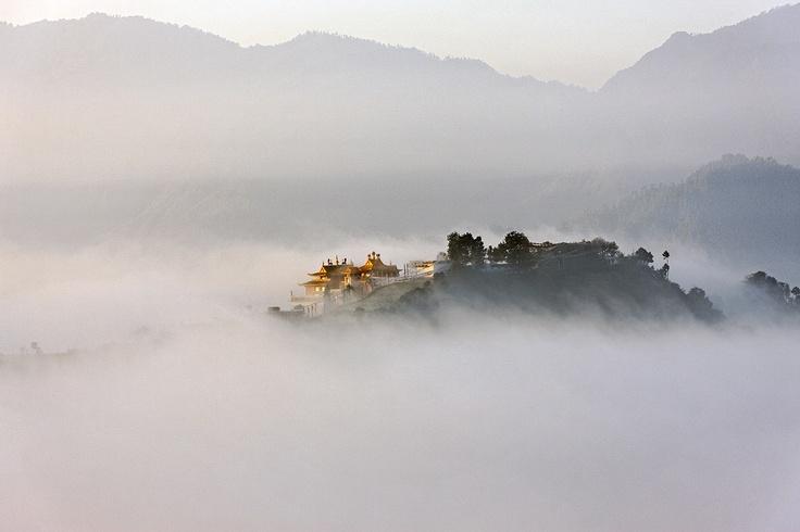 Namo Buddha, Nepal.: Dreams Places, Kathmandu Valley, Mornings Mists, Namo Buddha Nep, Monasteri Emergency, Incr Photographers, Tibetan Monasteri, Matthieu Ricard, Color Photography