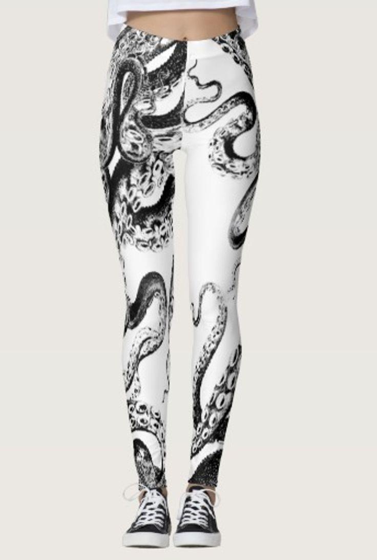 Squid Leggings by NDGRags on Zazzle