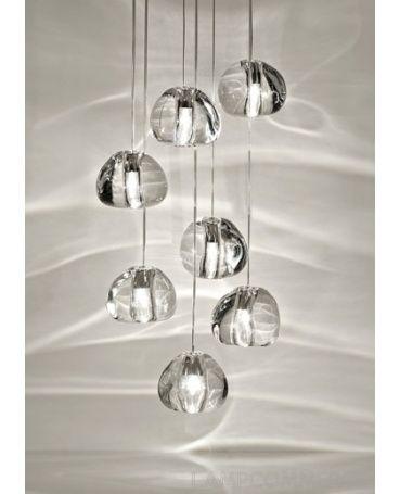 #Terzani #Mizu ceiling lamp Design Nicolas Terzani
