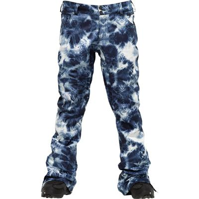 Burton womens Lizzy pant Acid Wash snowpants