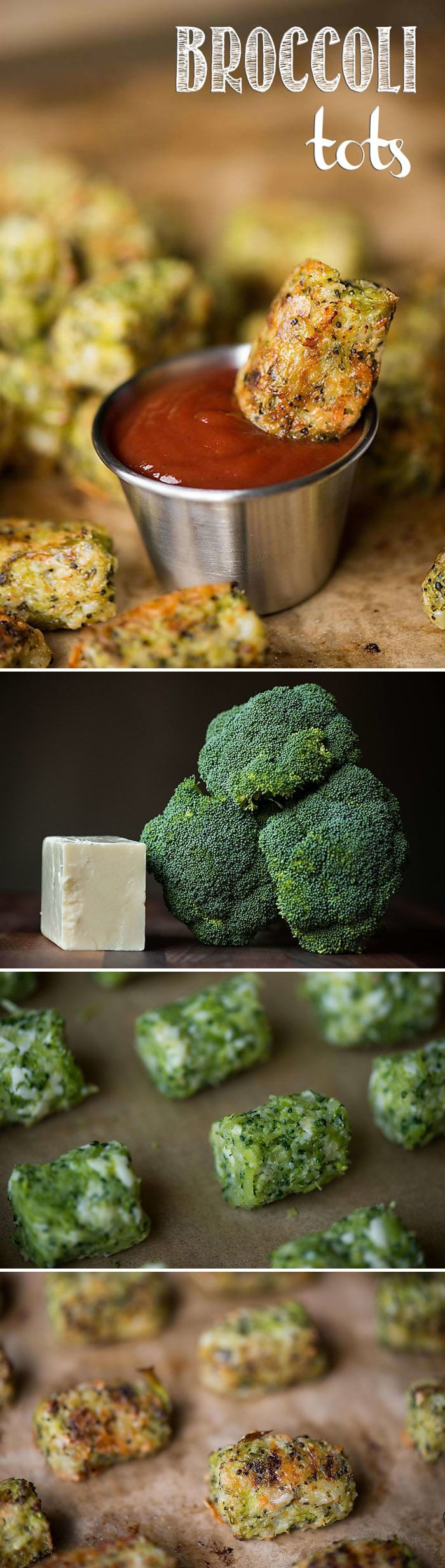 Since broccoli and cheese are one of life's great pairings, combine them into one low carb appetizer like these tasty Broccoli Tots! #broccoli #lowcarb #broccolitots