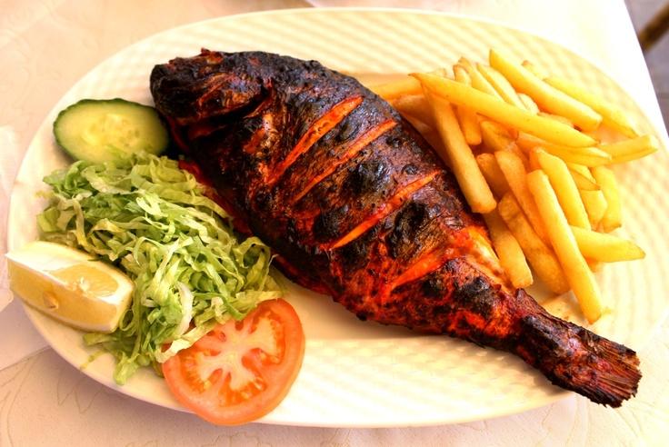 #Tandoori #fish & #chips!
