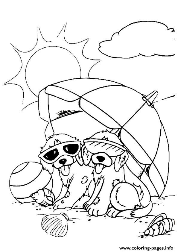 Puppies Spotty And Dotty A4 Coloring Pages Puppy Coloring Pages Animal Coloring Pages Dog Coloring Page