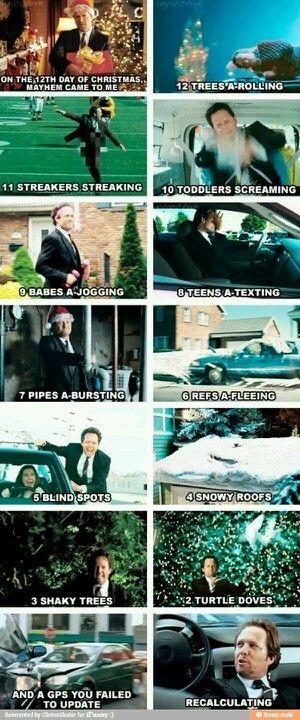 12 mayhem's of Christmas Allstate