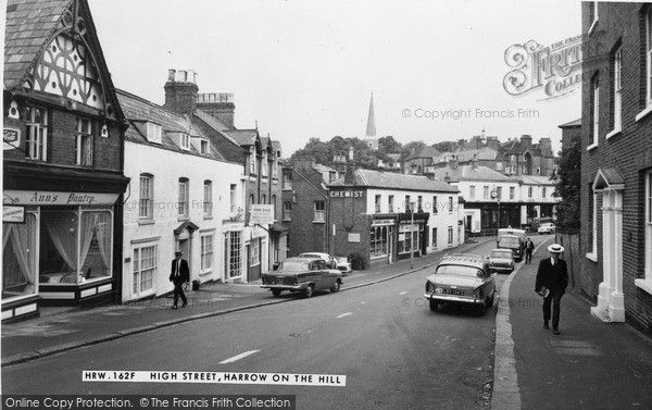 Harrow On The Hill, High Street c.1965, from Francis Frith