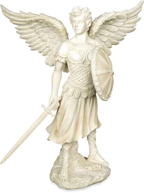 Archangel Michael Figurine by Angel Star [16253] - £29.99 : Cottingley Fairy Store online gift shop, Fairy gifts and Angel gifts from Cottingley