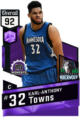 Karl-Anthony Towns: January Moment Of The Month, Stats on January: 15 games, 38 mpg, 25.4 ppg, 12.9 rpg, 3.7 apg, 0.9 spg, 1.8 bpg, 54.5 fg%, 34.9 3pt%.