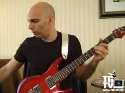 Joe Satriani Guitar Exercises - View more pro lessons at GuitarBasics's http://youtube.com/playlist?list=PLB56B96C4EE95FB48