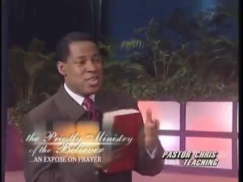 When You Pray Make Decrees Pastor Chris Oyakhilome