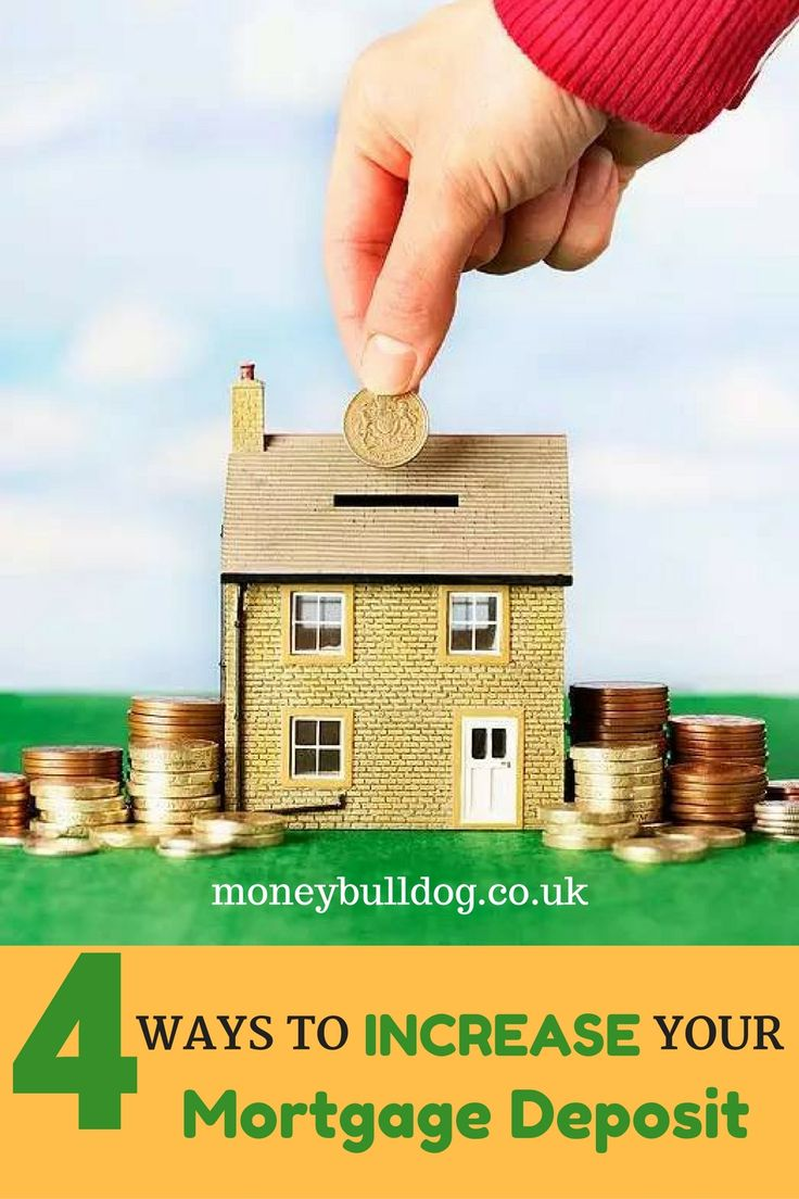 4 Ways to Increase Your Mortgage Deposit - Saving the money for a mortgage deposit to buy a home can be tough, especially if you live in an area where house prices are high. Here we list 4 great ways to boost your mortgage deposit kitty, so that you can buy your new home as quickly as possible!