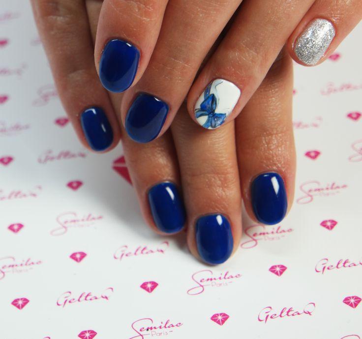 #blue #semilac #sweet #swanlake #bow