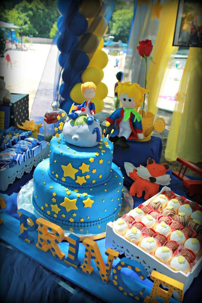 Little Prince Mathew's 1st birthday | CatchMyParty.com