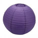 16' Dark Purple Paper Ball Lantern Wedding Party Decoration $3.41 canadian