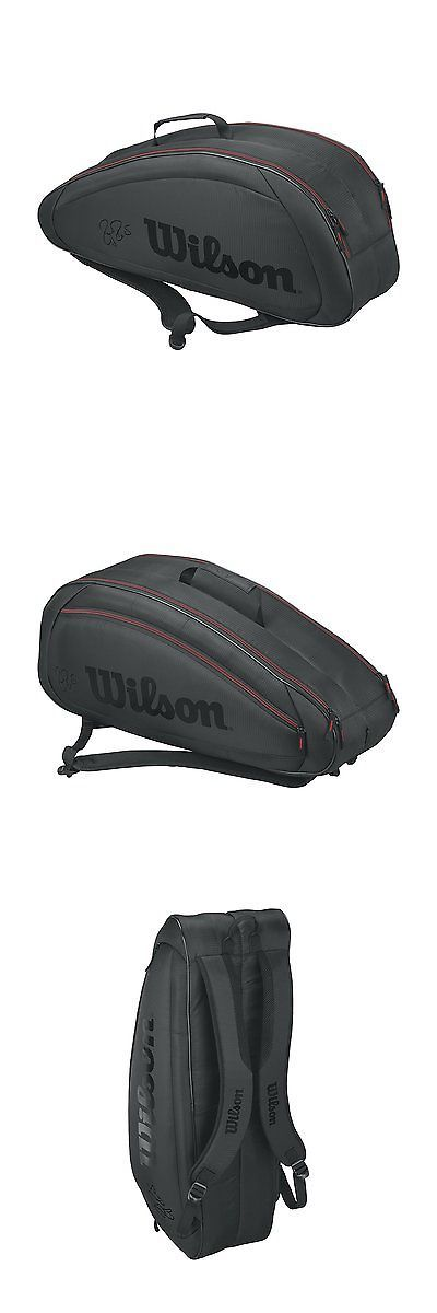 Bags 20869: Wilson Federer Team Collection Fed Team 6 Pack, Black -> BUY IT NOW ONLY: $71.98 on eBay!