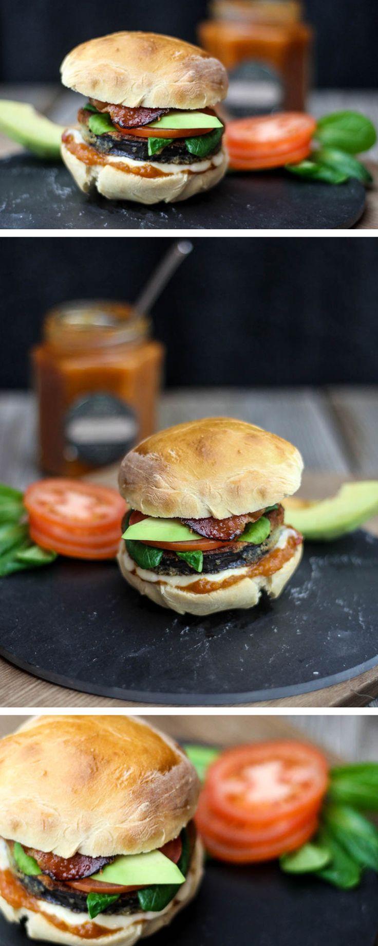 #recette : Préparez un délicieux #burger #vegan aux aubergines !