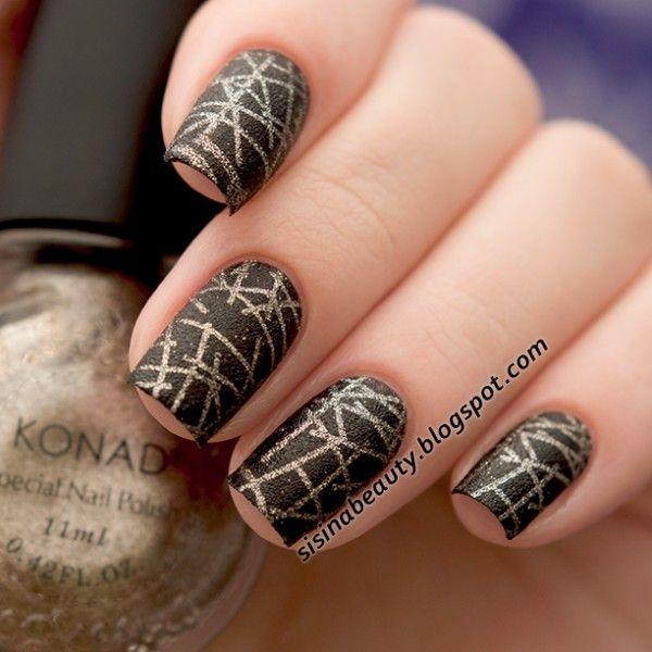 $ 8.44 11 мл Сияющий Konad Nail Art Stamping Польский Свет кофе Штамповка Польский # 42 - BornPrettyStore.com