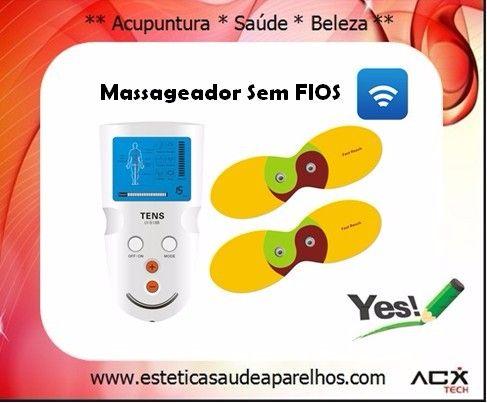 Massageador TENS Portátil SEM FIOS!!!