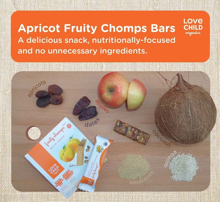 Has your family tried our Apricot Fruity Chomps? Made with only pure organic ingredients, packed full of super foods, and never containing sugar, syrups or fruit concentrate.