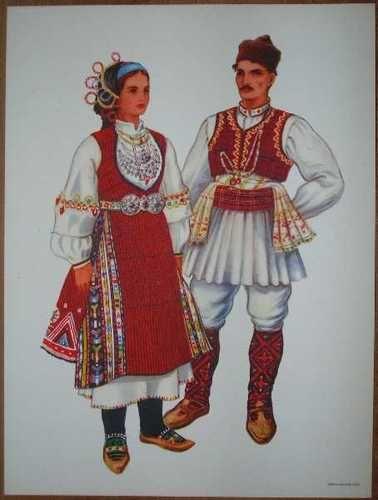 Macedonia Folk Costume Kocani